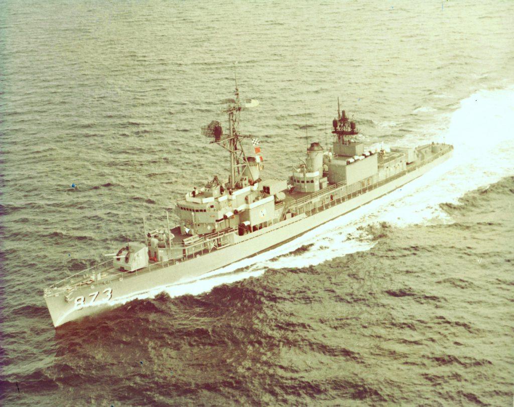 USS Hawkins (DD 873), circa 1969