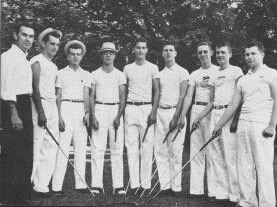 Tiger golf team, 1958: Burke Herron, John Castro, Billy Lea, Bill Rose, Jimmy Smith, Charlie Teasley, Bob Pinkerton, Charles Gilbert, Tom Goldsby.