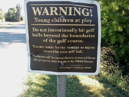 golf-children_warning